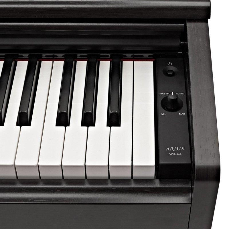 yamaha ydp144 digital piano rosewood free delivery price match guarantee. Black Bedroom Furniture Sets. Home Design Ideas