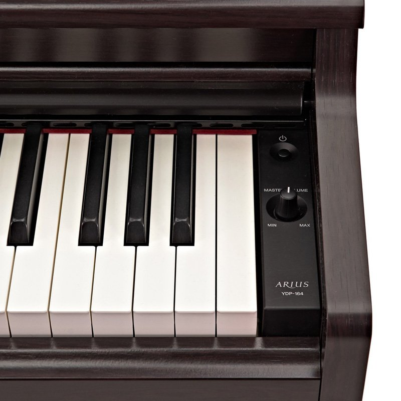 yamaha ydp164 digital piano rosewood free delivery price match guarantee. Black Bedroom Furniture Sets. Home Design Ideas
