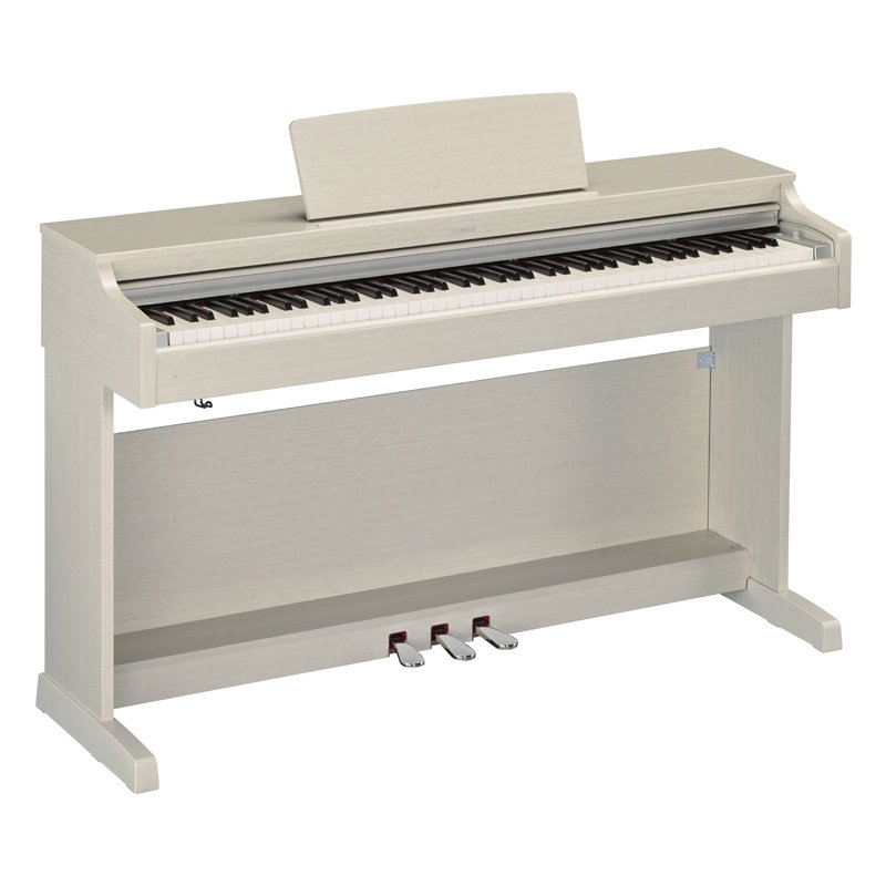 yamaha ydp164 digital piano white ash free delivery price match guarantee. Black Bedroom Furniture Sets. Home Design Ideas