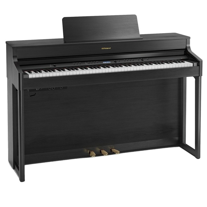roland hp702 digital piano charcoal black free delivery price match guarantee. Black Bedroom Furniture Sets. Home Design Ideas