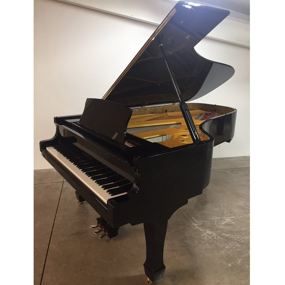 "Steinhoven SG227 Grand Piano, Polished Ebony (227cm, 7'6"") - FREE DELIVERY"