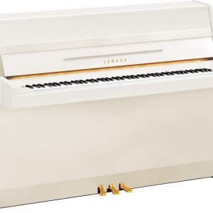 Yamaha B1 Upright Piano, Polished White - Free Delivery - PRICE MATCH GUARANTEE