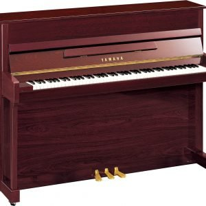 Yamaha B2 Upright Piano, Polished Mahogany - Free Delivery - PRICE MATCH GUARANTEE