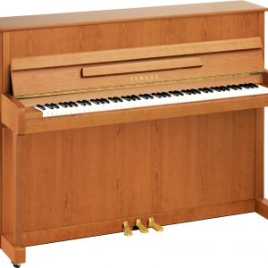 Yamaha B2 Upright Piano, Satin Cherry - Free Delivery - PRICE MATCH GUARANTEE