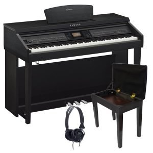 Yamaha Clavinova CVP701 Digital Piano, Satin Black - FREE Delivery - PRICE MATCH GUARANTEE