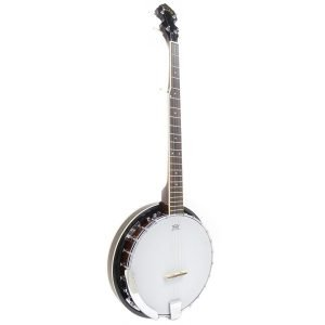 Koda FBJ25, 5 String Banjo, 24 Brackets, 22 Fret, Wooden Rim, Mahogany Neck & Resonator, Rosewood Fingerboard - FREE DELIVERY