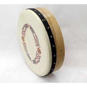 "Koda 16""x4"" Ashwood Tuneable Bodhran with KNOTWORK Design"