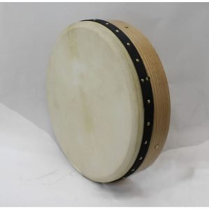 "Koda 16""x4"" Ashwood Tuneable Bodhran with PLAIN Design"