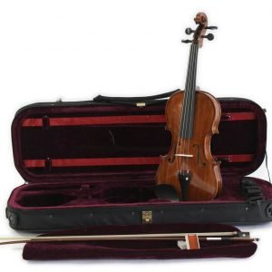 Koda HDV31B High Quality 4/4 Size Violin with Case, Bow and Rosin - FREE Delivery
