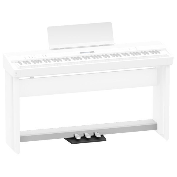 Roland KPD-90 Pedal Unit for FP-60 and FP-90 Digital Piano, White - Free Delivery