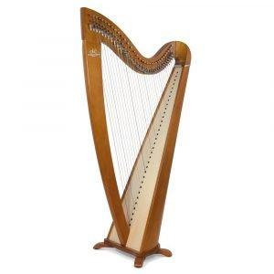 Camac Telenn 34 Gut String Harp, Cherrywood