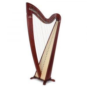 Camac Telenn 34 Gut String Harp, Mahogany