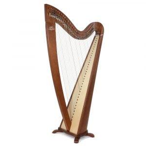 Camac Telenn 34 Gut String Harp, Walnut
