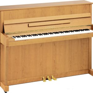 Yamaha B2 Upright Piano, Satin Beech - Free Delivery - PRICE MATCH GUARANTEE