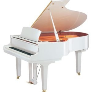 Yamaha C3X Concert Grand Piano, Polished White - Free Delivery - PRICE MATCH GUARANTEE