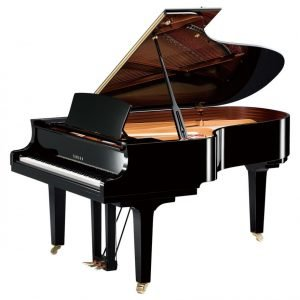 Yamaha C5X Concert Grand Piano, Polished Black - Free Delivery - PRICE MATCH GUARANTEE