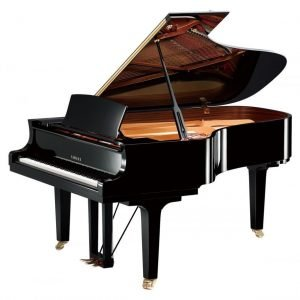 Yamaha C6X Grand Piano, Polished Black - Free Delivery - PRICE MATCH GUARANTEE