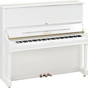 Yamaha U3 Upright Piano, Polished White - Free Delivery - PRICE MATCH GUARANTEE